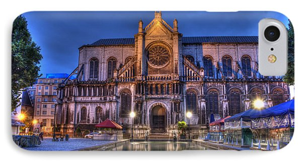 Saint Catherine Church. Brussels IPhone Case