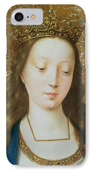 Saint Catherine IPhone Case by Goossen van der Weyden