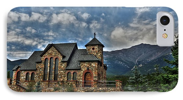 Saint Catherine Of Siena Chapel IPhone Case by Alex Owen
