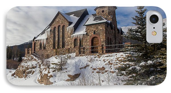 Saint Catherine Of Siena Chapel At The St. Malo Retreat Center O IPhone Case by Bridget Calip