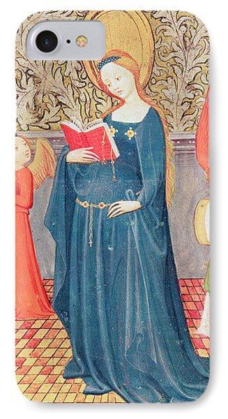 Saint Cecilia IPhone Case by Flemish School