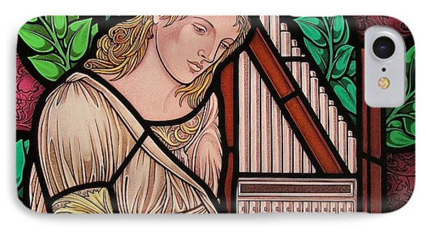 Saint Cecilia Phone Case by Gilroy Stained Glass