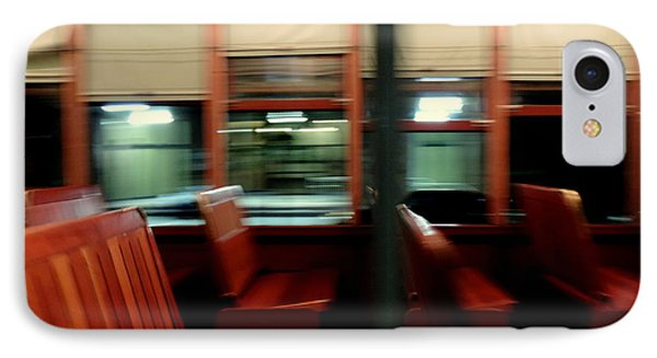 New Orleans Saint Charles Avenue Street Car In New Orleans Louisiana #6 IPhone Case by Michael Hoard