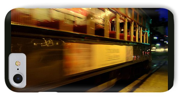 New Orleans Saint Charles Avenue Street Car In  Louisiana #7 IPhone Case by Michael Hoard