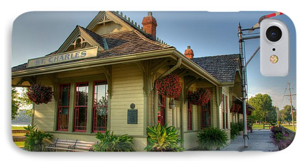 Saint Charles Station IPhone Case by Steve Stuller