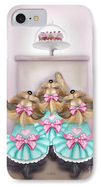 Saint Cupcakes IPhone Case by Catia Cho