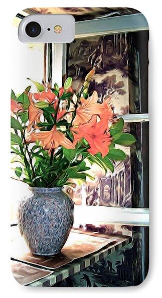 IPhone Case featuring the photograph Saint Emilion Window by Joan  Minchak