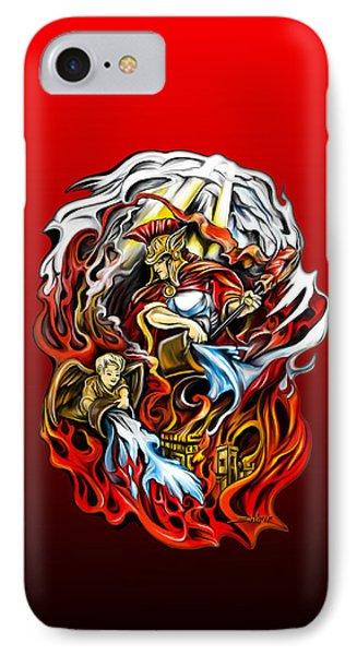 Saint Florian Phone Case by Michael Spano