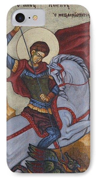 Saint George Agios Georgios Phone Case by Sonya Grigorova