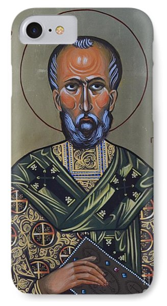 Saint Gregory Icon IPhone Case by Kateryna Kurylo