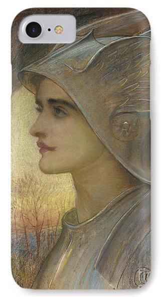 Saint Joan Of Arc IPhone Case