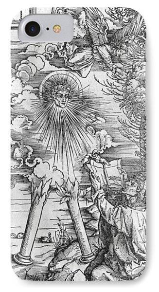 Saint John IPhone Case by Albrecht Durer or Duerer
