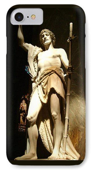 Saint John The Baptist Phone Case by Ellen Henneke