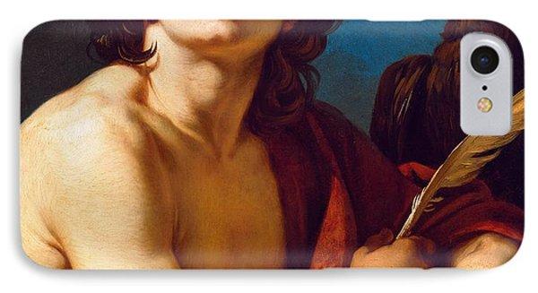 Saint John The Evangelist IPhone Case by Francois Andre Vincent