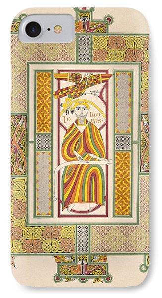 Saint John The Evangelist IPhone Case by Irish School
