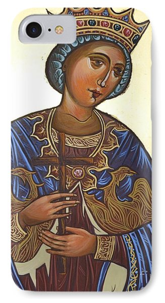 Saint Kateryna Icon IPhone Case by Kateryna Kurylo