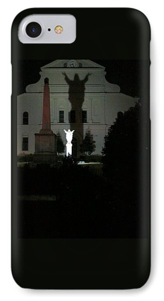 Saint Louis Cathedral Courtyard - New Orleans La IPhone Case