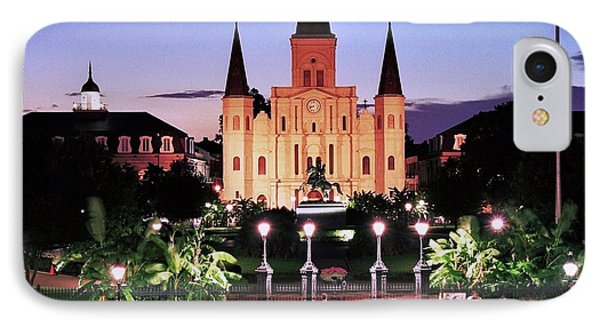 Saint Louis Cathedral New Orleans IPhone Case by Allen Beatty