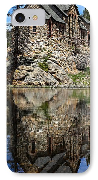 Saint Malo Chapel IPhone Case by Shane Bechler