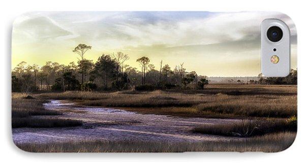 Saint Marks Wetland Sunset IPhone Case