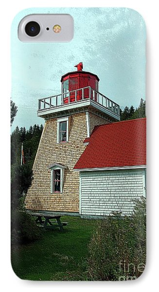 Saint Martin's Lighthouse 2 Phone Case by Kathleen Struckle