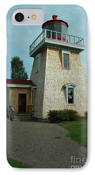 Saint Martin's Lighthouse Phone Case by Kathleen Struckle