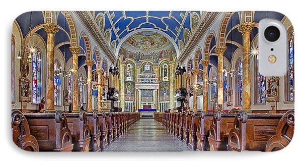 Saint Michael Catholic Church Phone Case by Susan Candelario