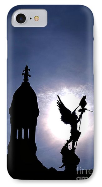 Saint Michael The Archangel  IPhone Case by Olivier Le Queinec