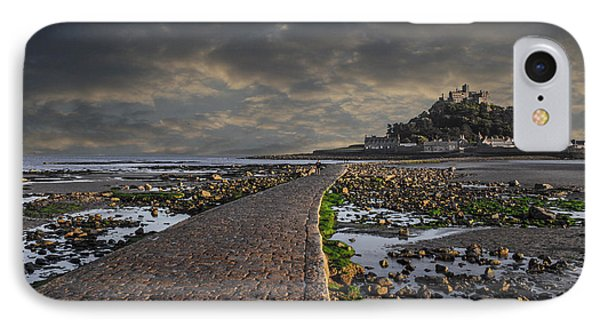 Saint Michael's Mount Cornwal Uk IPhone Case by Martin Newman