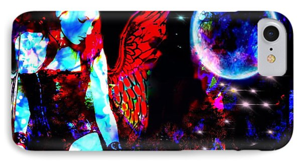 IPhone Case featuring the digital art Saint Or Sinner #4 by Diana Riukas