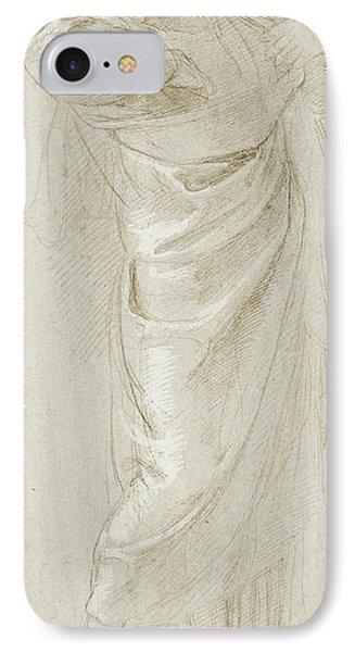 Saint Paul Rending His Garments Raphael Raffaello Sanzio IPhone Case by Litz Collection