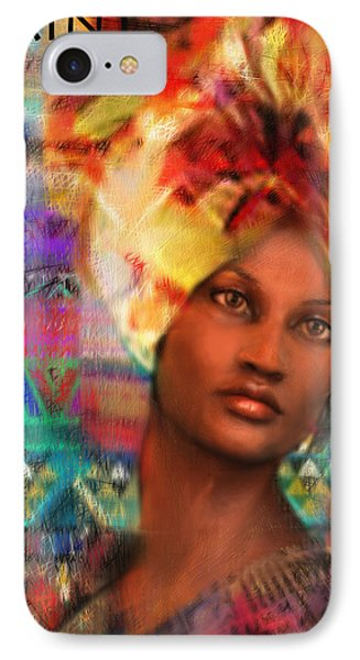 Saint Perpetua Of Carthage IPhone Case by Suzanne Silvir