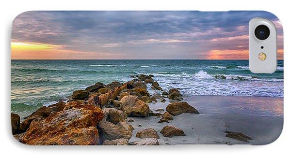 Saint Pete Beach Stormy Sunset IPhone Case