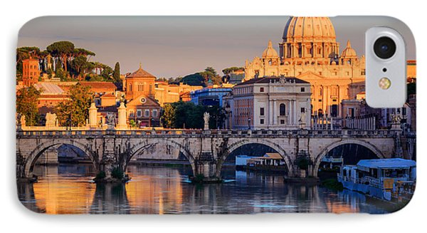 Saint Peters Basilica IPhone Case by Inge Johnsson