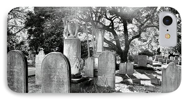 Saint Philips Church Cemetery Charleston Sc Hdr IPhone Case