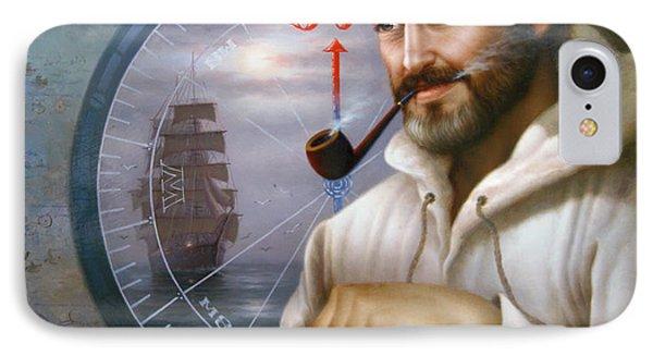 Saint Simons Island Sea Captain 1 IPhone Case