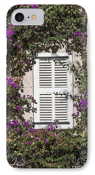 Saint Tropez Window IPhone Case by John Greim