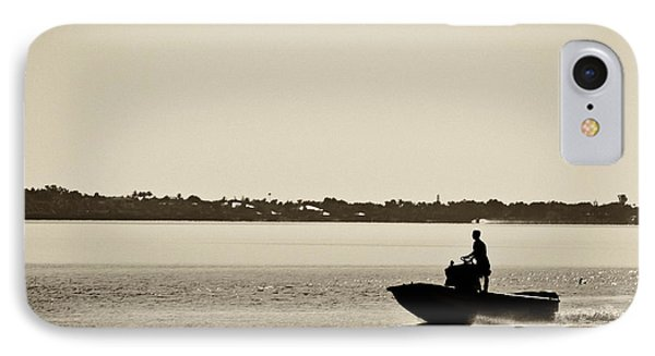 Saintlucieboating IPhone Case by Patrick M Lynch