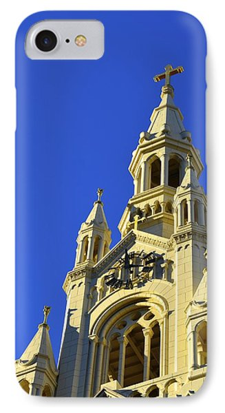 Saints Peter And Paul Church San Francisco IPhone Case by Alex King