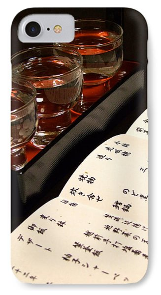 IPhone Case featuring the photograph Sake Delight by Larry Knipfing