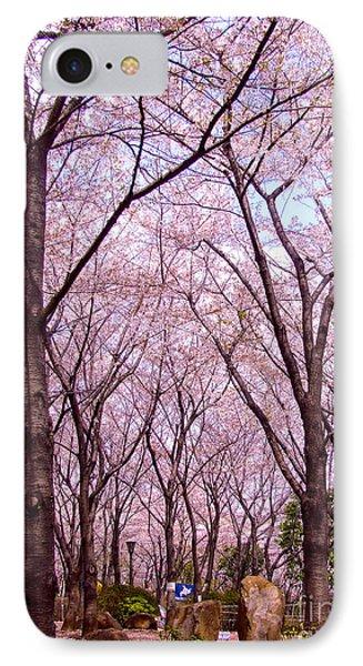 Sakura Tree IPhone Case by Andrea Anderegg