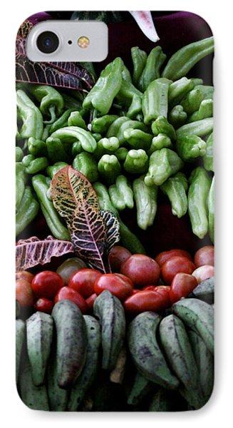 Salad Fixings IPhone Case by Mustafa Abdullah