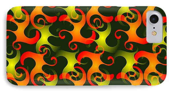 Salamanders Dream IPhone Case by Anastasiya Malakhova