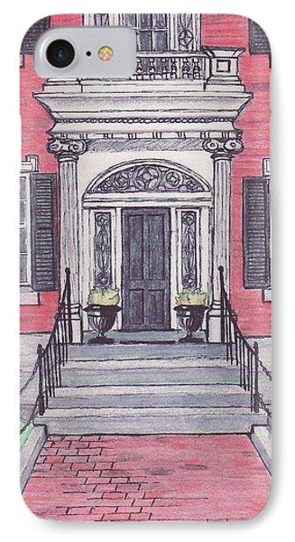 Salem Essex Street Front Door IPhone Case