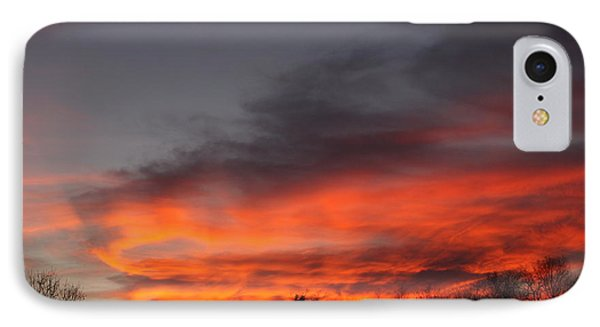 Salem Sunset IPhone Case