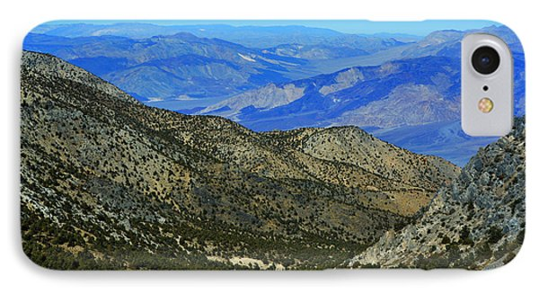 Saline Valley From Cerro Gordo Pass November 16 2014 IPhone Case