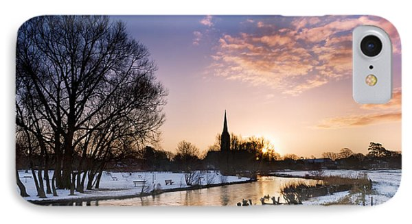 Salisbury Cathedral 2 IPhone Case by Rod McLean
