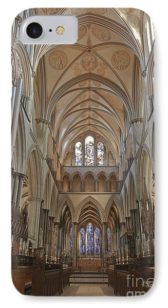 Salisbury Cathedral Quire And High Altar IPhone Case by Terri Waters