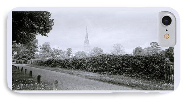 Salisbury Cathedral IPhone Case by Shaun Higson
