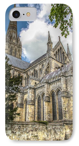 Salisbury In The Morning IPhone Case by Ross Henton